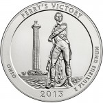 2013 5 oz ATB Perry's Victory Silver Coin (BU)