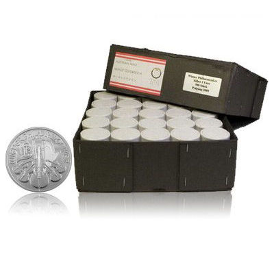 Buy 2014 Silver Austrian Philharmonic Monster Boxes