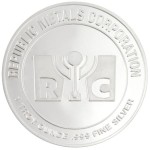 1 oz RMC Silver Round (New)