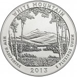 2013 5 oz ATB White Mountain Silver Coin (BU)