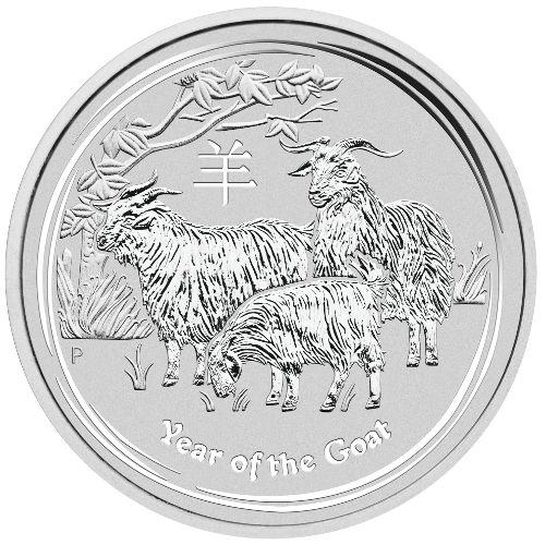 Buy 2015 1 Oz Silver Australian Goat Coins 999 Bu