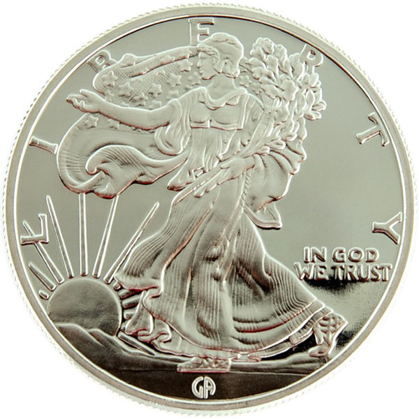 Buy 1 Oz Great American Mint Silver Rounds 999 New