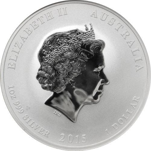 Buy 2015 1 Oz Silver Australian Goat Coins Ngc Ms69