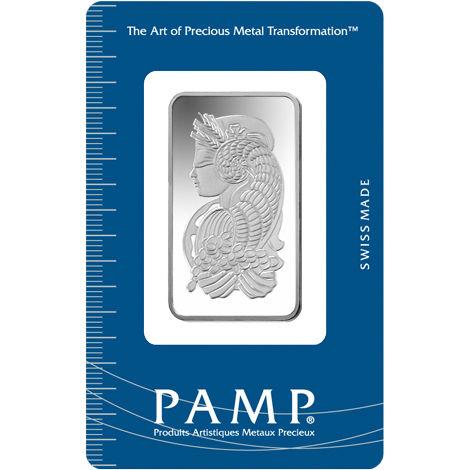 1 Oz Pamp Suisse Silver Bar