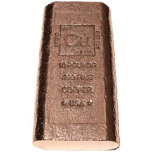 Buy 10 Pound Copper Bullion Bars New 999 Pure Silver Com