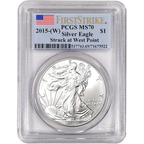 Buy 2015 W Silver Eagles Pcgs Ms70 First Strike