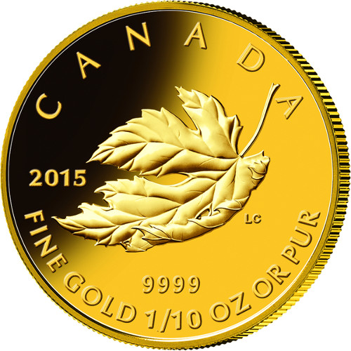 Buy 2015 Gold Canadian Maple Leaf Coin Premium Sets