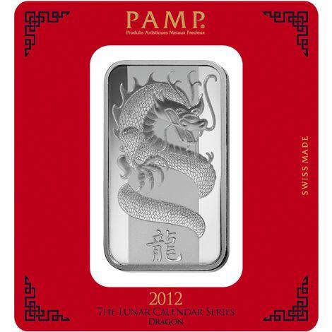 Buy 100 Gram Pamp Suisse Dragon Silver Bars Silver Com