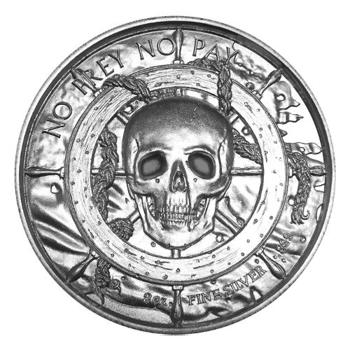 Buy 2 Oz Privateer Ultra High Relief Silver Rounds