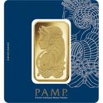 gold fortuna veriscan bar in assay - PAMP Suisse Obverse
