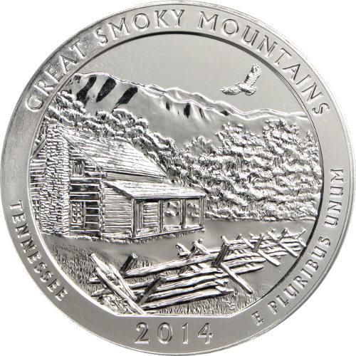 smoky mountain coin