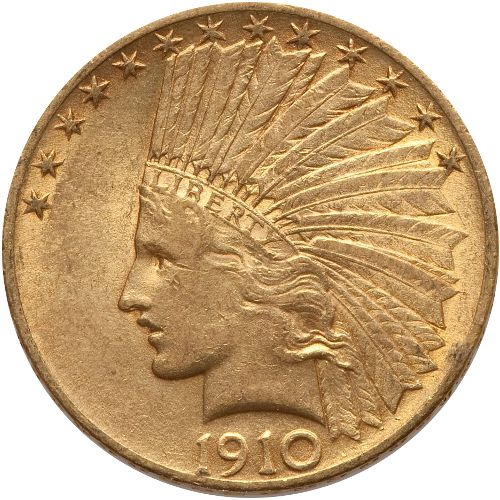 Buy Pre 1933 10 Indian Gold Eagles Vf Silver Com