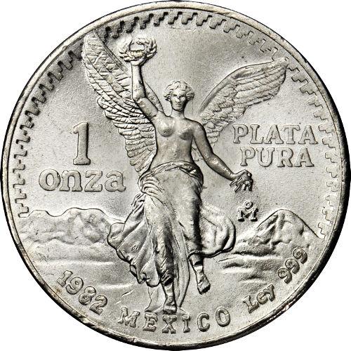 Buy 1982 1 Oz Mexican Silver Libertads 999 Silver Com