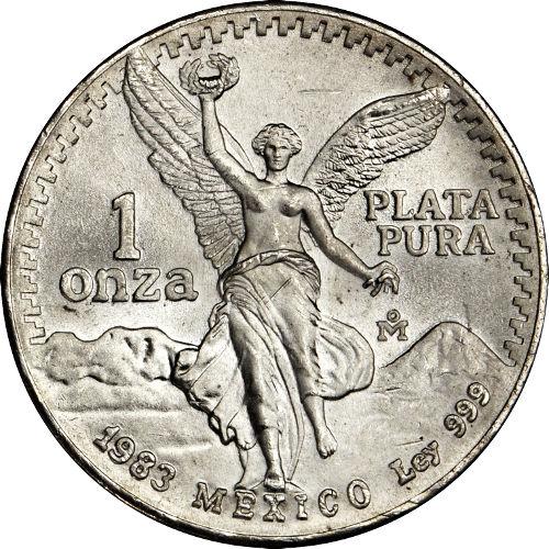 Buy 1983 1 Oz Mexican Silver Libertads 999 Silver Com