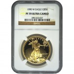 1990-w-gold-american-eagle-ngc-pf70-ucam-obverse2