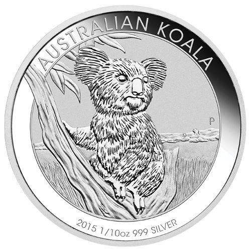 Buy 2015 1 10 Oz Silver Australian Koalas 999 Bu