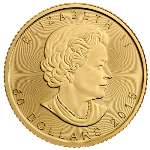 Buy 2015 1 Oz Gold Canadian Maple Leaf Coins In Assay