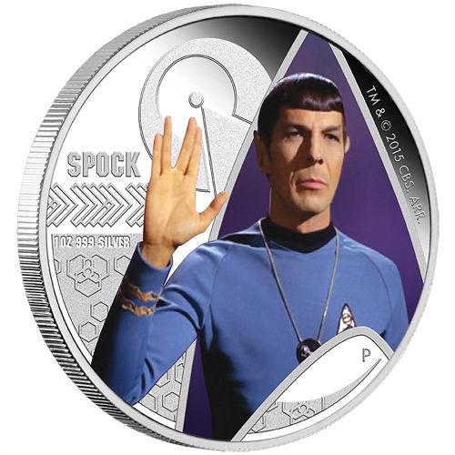 Buy 2015 1 Oz Star Trek Spock Silver Coins New Silver Com