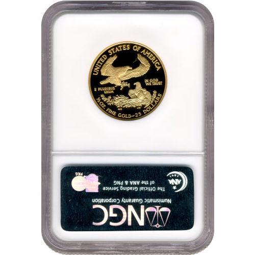 Buy 1989 P 1 2 Oz Gold Eagles Ngc Pf70 Ucam Silver Com