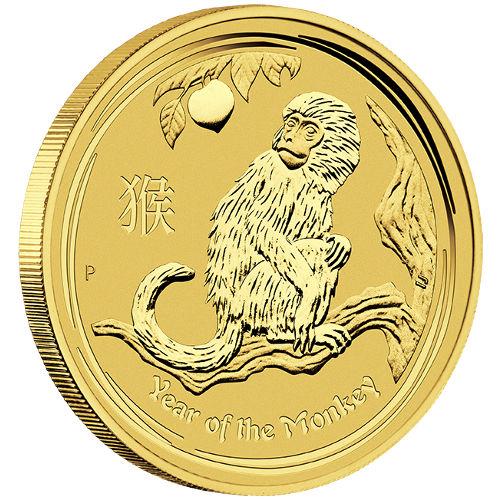 Buy 2016 2 Oz Gold Australian Monkey Coins 9999 Bu