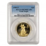 1989-P-25-Proof-American-Gold-Eagle-PCGS-PR70-DCAM