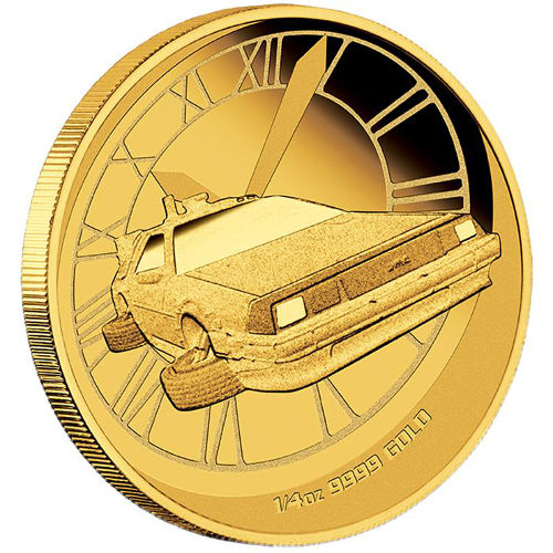 Buy 2015 1 4 Oz Proof Gold Back To The Future Coins New