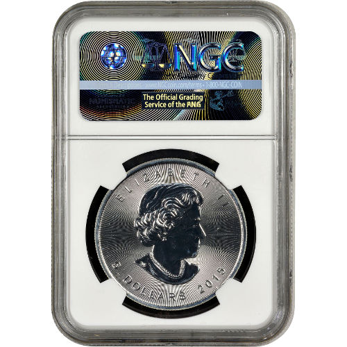 Buy 2015 1 Oz Silver Canadian Maple Leafs Ngc Ms69