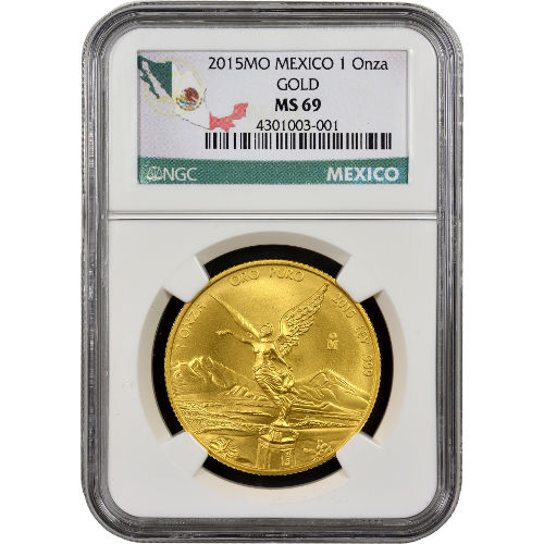 Buy 2015 1 Oz Mexican Gold Libertads Ngc Ms69 Silver Com