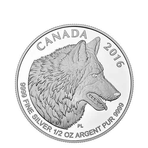 Buy 2016 Canadian Silver Wolf Fractional 4 Coin Set