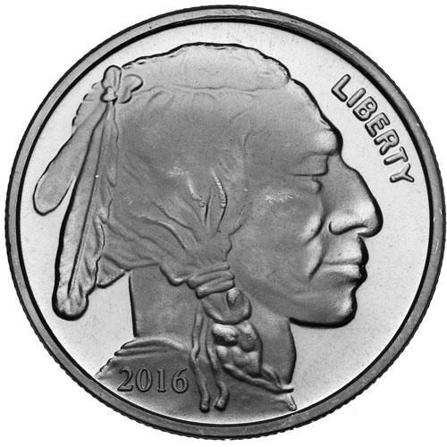 Buy 2016 1 Oz Silvertowne Buffalo Silver Rounds Silver Com
