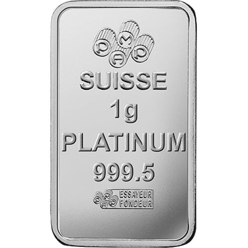 Buy 25 Gram Pamp Suisse Divisible Platinum Bars 25x1g