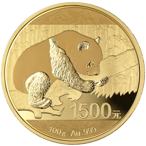 Buy 2016 100 Gram Proof Gold Chinese Panda Coins Online