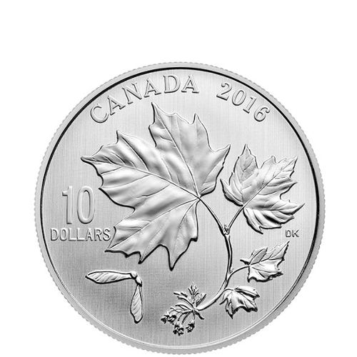Buy 2016 Silver Canadian 10 Maple Leaves Coins Silver Com