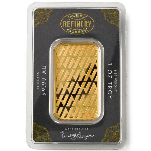 1 Oz Asahi Gold Bars New In Ay Serials 1000