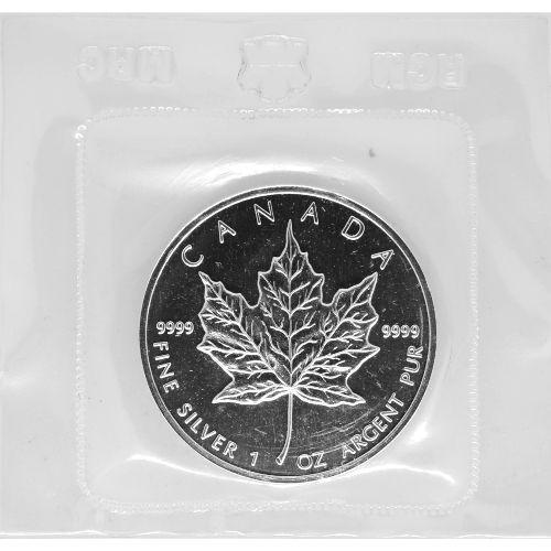 Buy 1989 1 Oz Silver Canadian Maple Leafs Silver Com