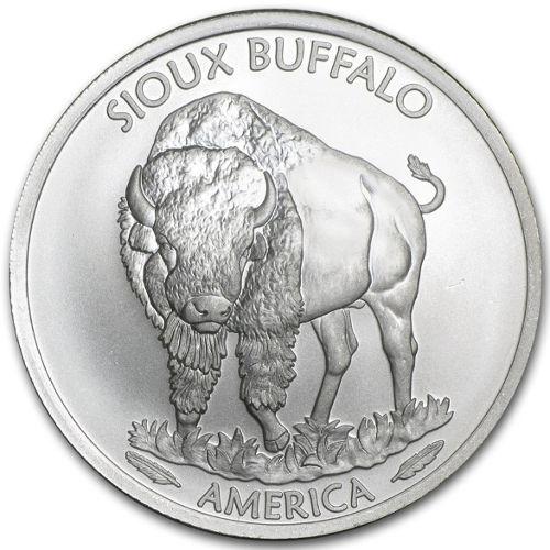 1 oz silver buffalo coin worth