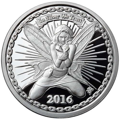 Buy 1 Oz Proof Silverbug Silver Alyx The Fairy Rounds