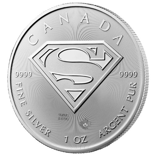 Buy 2016 1 Oz Silver Canadian Superman Shield Coins