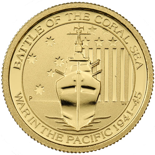 Buy 2014 1 10 Oz Gold Australian War In The Pacific Coins