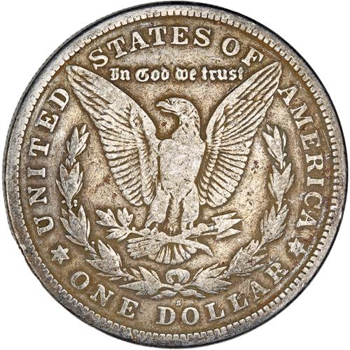 1 Dollar Silver Coin 1921