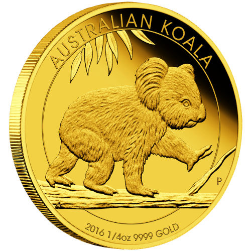 Buy 2016 1 4 Oz Gold Australian Koalas 9999 Proof