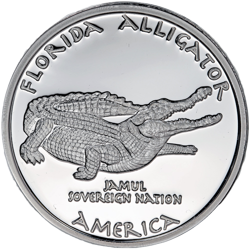 2016 1 Oz Proof Silver Florida Seminole Alligator Coins Silver Com