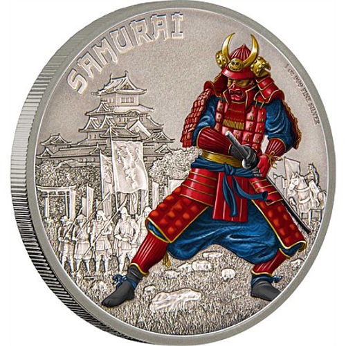 Buy 2016 1 Oz Silver Niue Warriors Of History Samurai