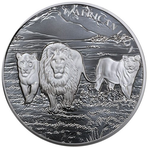 Buy 2016 5 Oz Silver Congo African Lion Coins Online