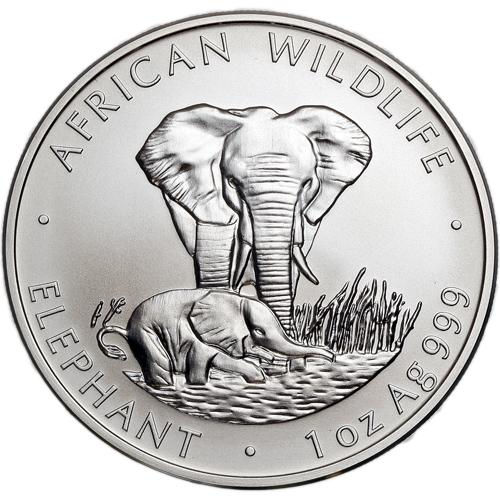 Buy 1999 1 Oz Silver Zambian Elephant Coins Silver Com
