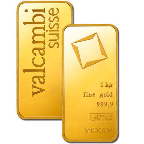 Buy 1 Kilo Valcambi Gold Bars Silver Com