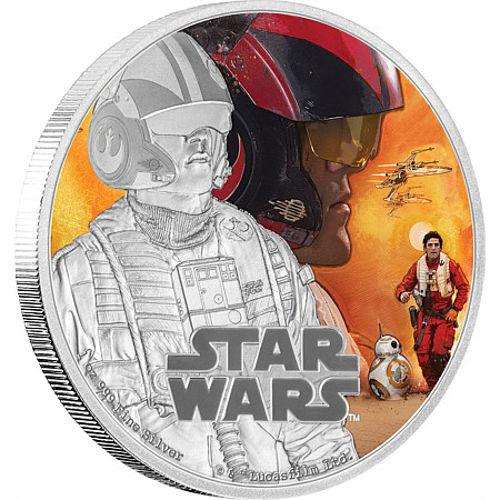 Buy 2016 1 Oz Silver Niue Star Wars Poe Dameron Proof