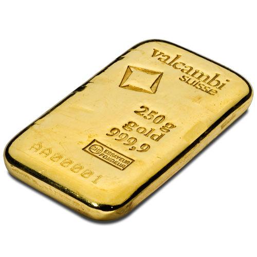 Buy 250 Gram Valcambi Cast Gold Bars Silver Com