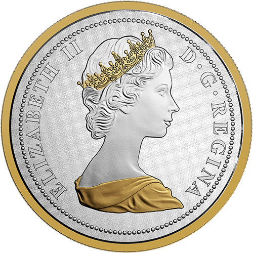 2017 5 oz Silver Canadian Alex Colville Big Coin Goose ...