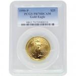 1990-P-1-2-oz-american-gold-eagle-pcgs-pr70-dcam-obverse